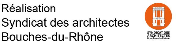 Architectouro plan guide du syndicat des architectes des for Logo bouches du rhone